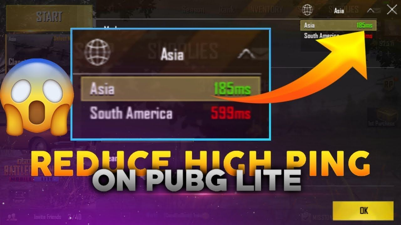 How To Reduce High Ping In Pubg Mobile Lite? | Lite, Ping, Lite source