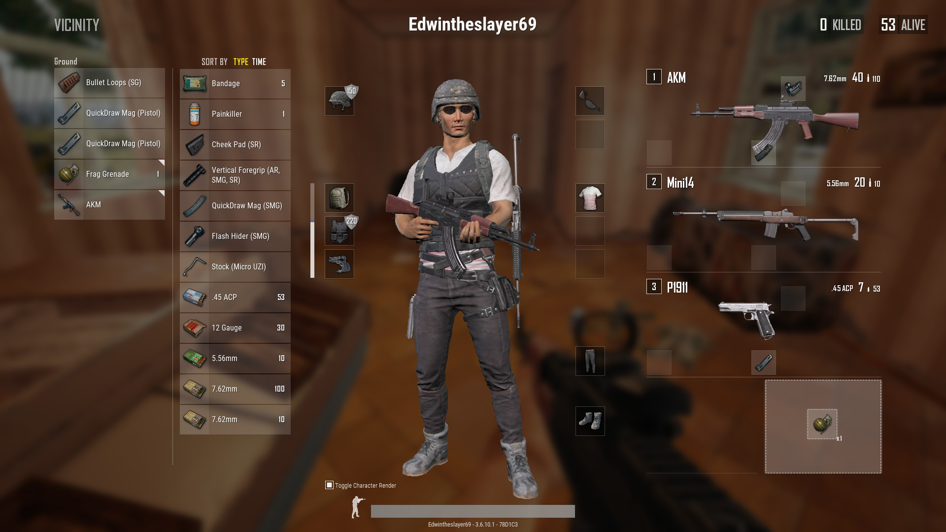 PUBG: How to equip guns, attachments and grenades (Guide) - Metabomb